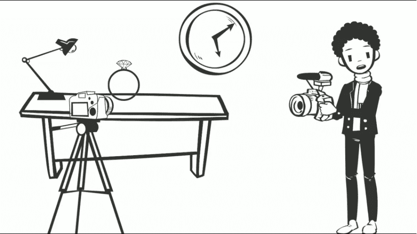 product photography tips using gemlightbox cartoon demonstration