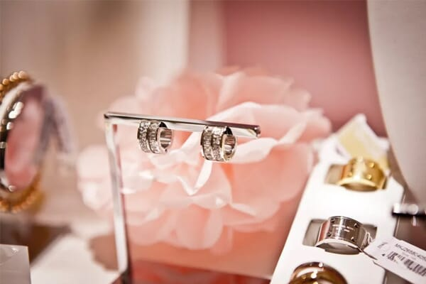 jewelry photography cluttered background