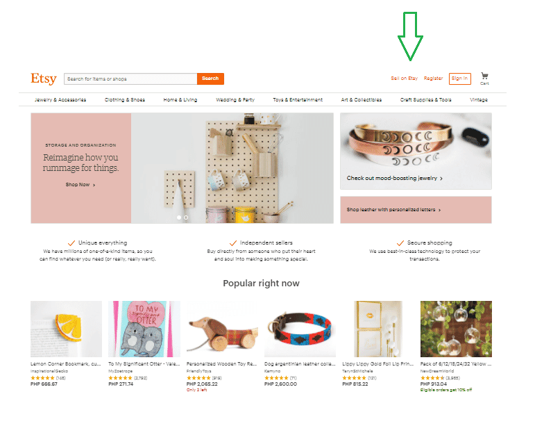 How to Sell Jewelry on Etsy