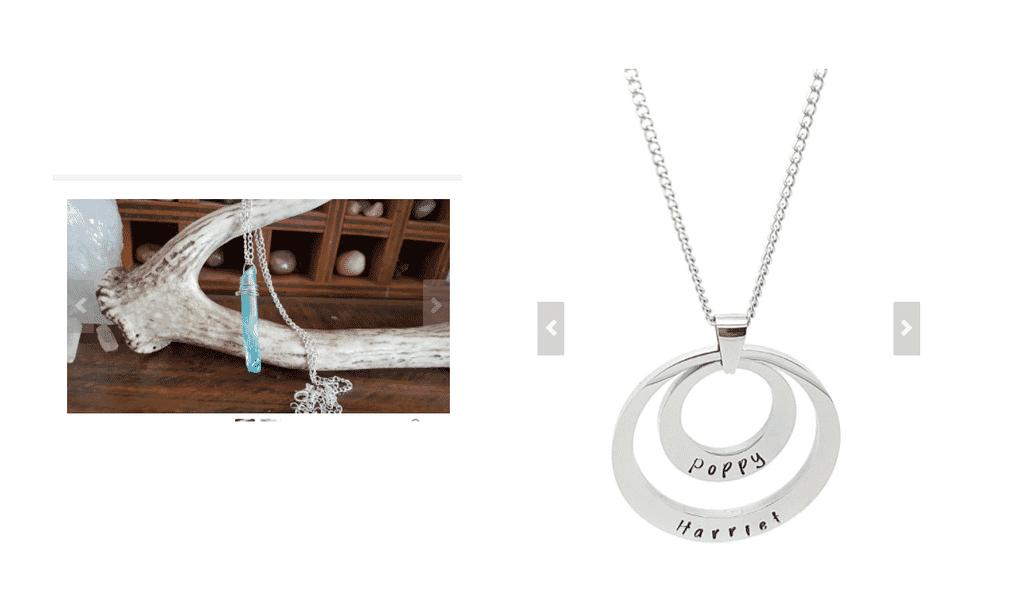 jewelry studio shot for etsy