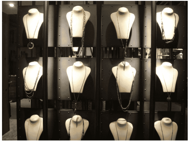 using mannequins in jewelry photography helps you achieve consistency