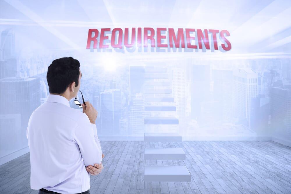 Meet Amazon's general requirements