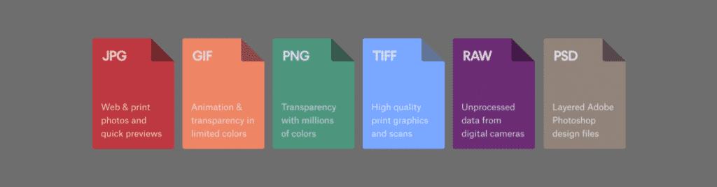 jewelry image sizing - file types