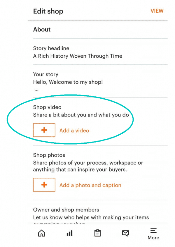 How to upload videos to etsy
