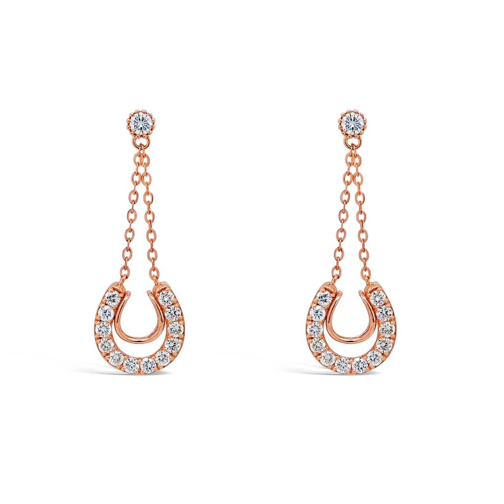 jewelry retouching service - earrings, after retouching.