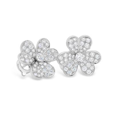 Retuschierte DSLR | Diamanten Ohrringe