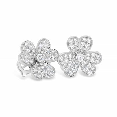 Retouched DSLR, Diamond earrings