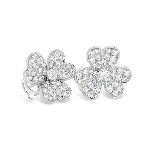 Retouched DSLR   Diamond earrings