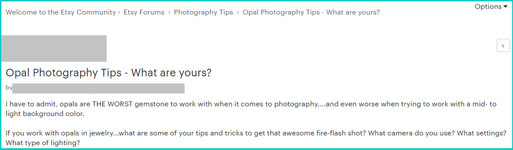 Opal photography