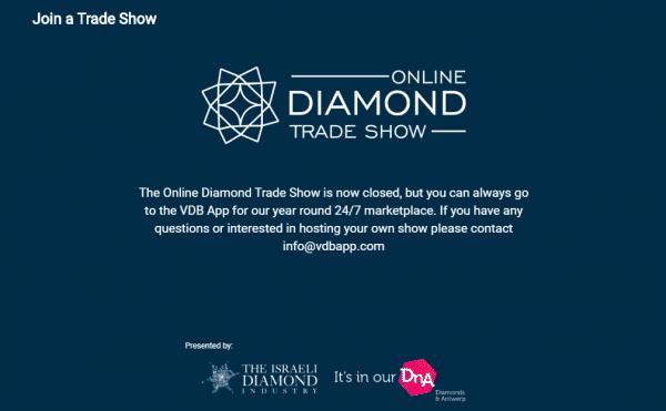 are online diamond trade shows the future