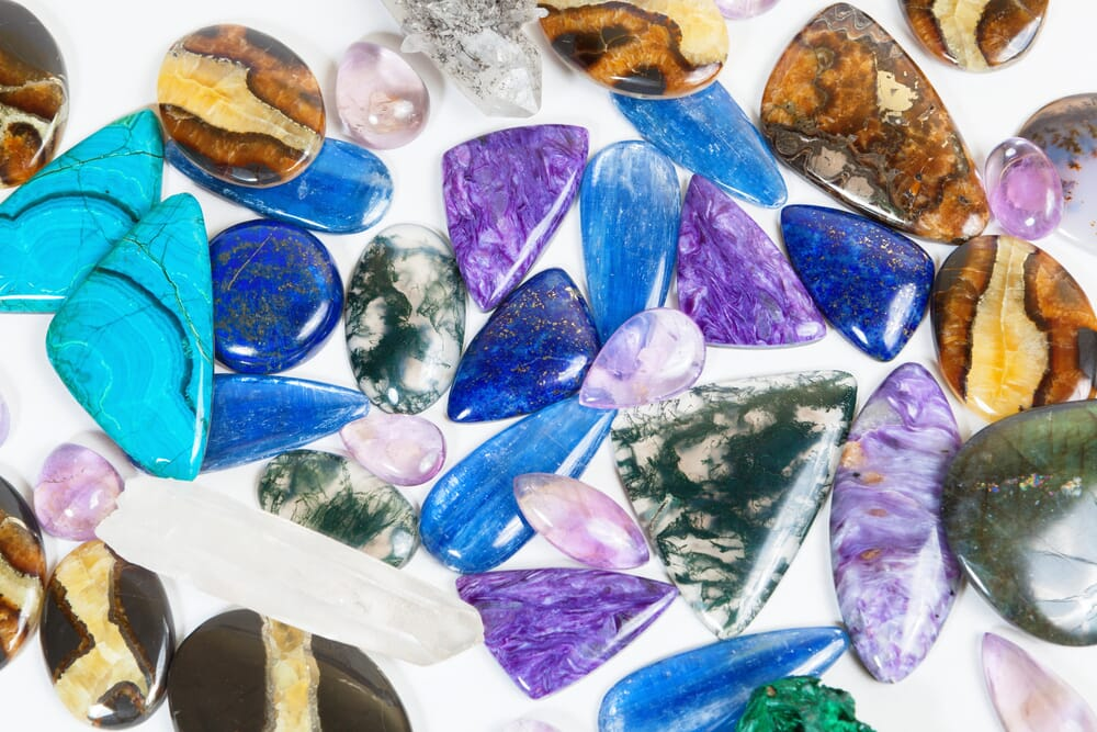 how to photograph semi-precious stones