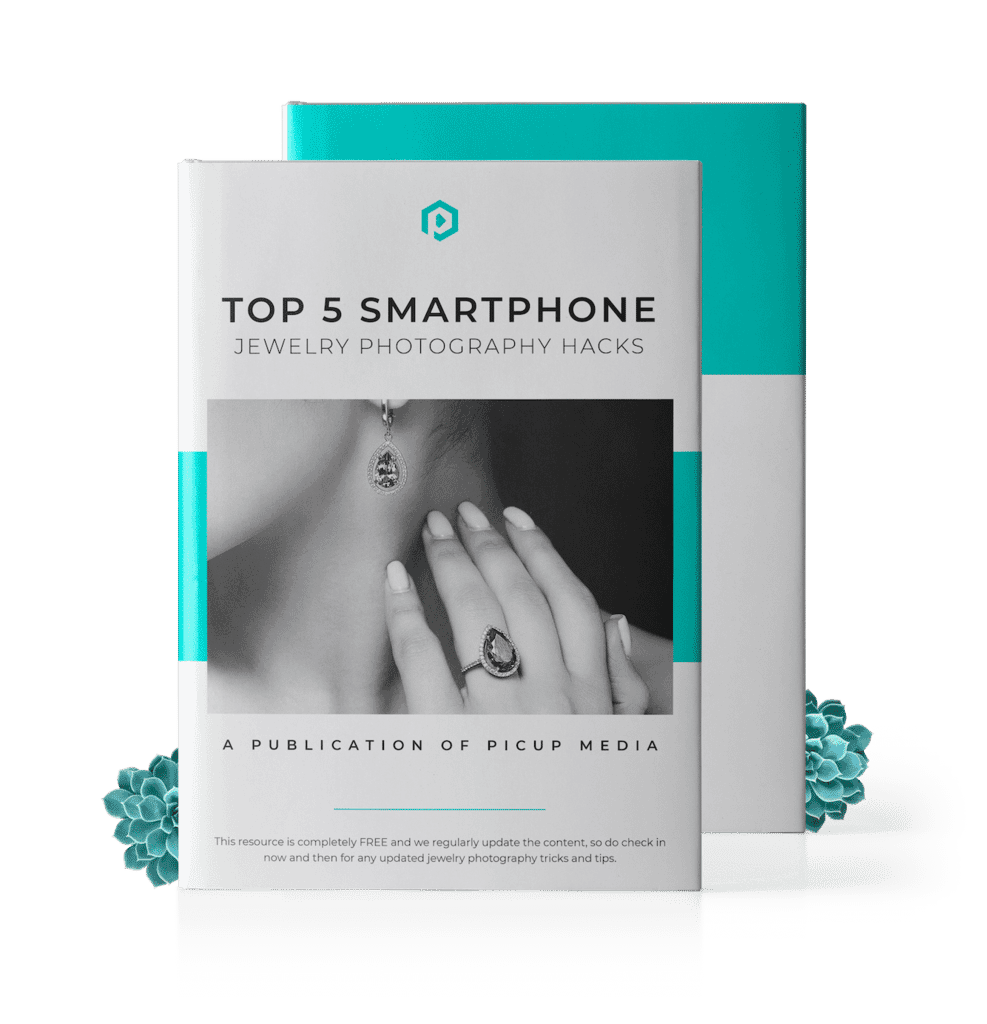 Top 5 smartphone jewelry photography ebook cover