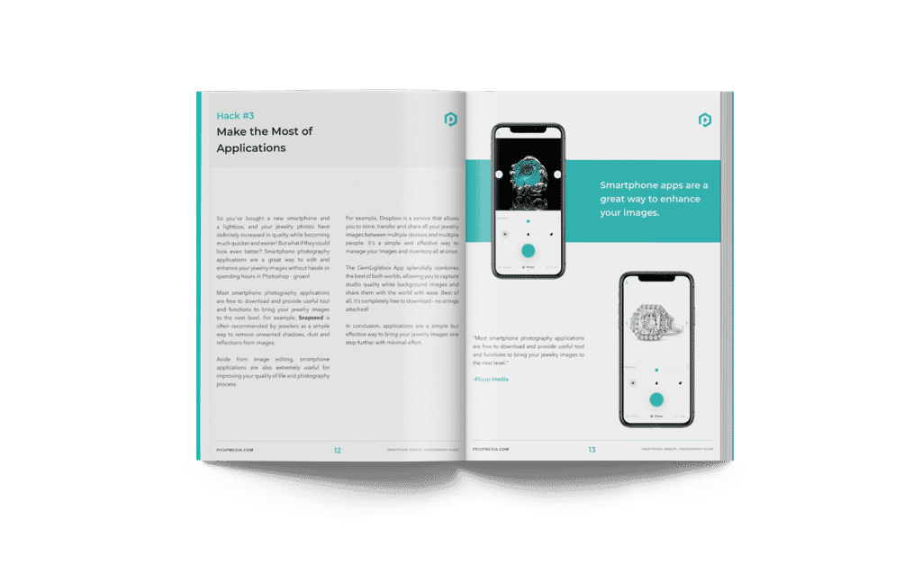 Top 5 smartphone jewelry photography ebook preview