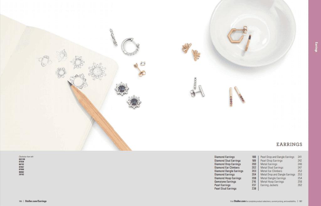 Create jewelry catalog