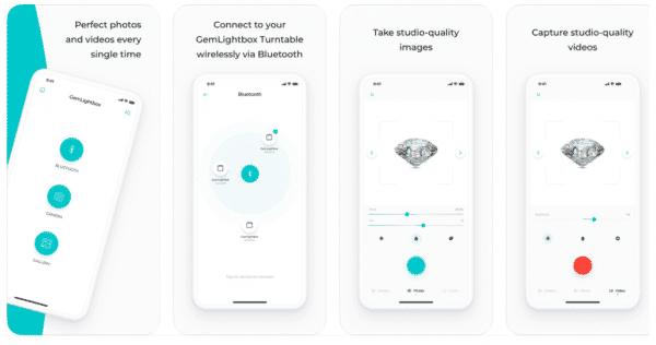 The GemLightbox app